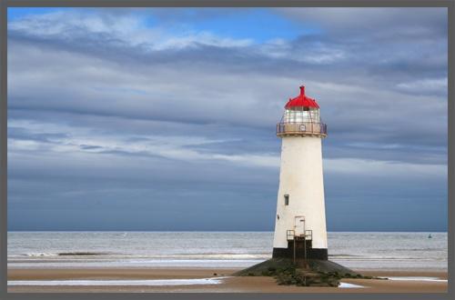 Talacre Lighthouse by simonjr