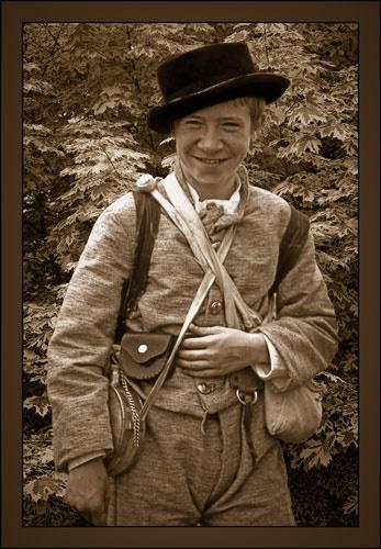 Boy Soldier by stevenb