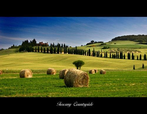 Tuscany Countryside by rusmi