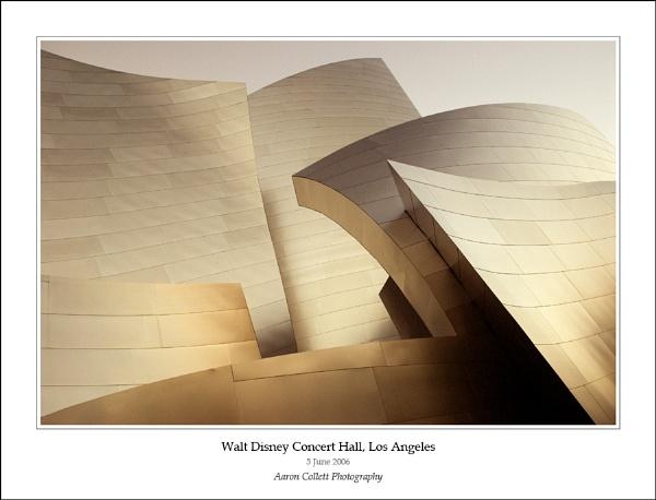 Walt Disney Concert Hall by AaronCollettPhotography
