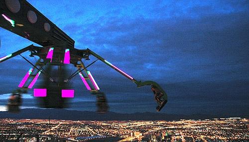Fun over Vegas by Taran