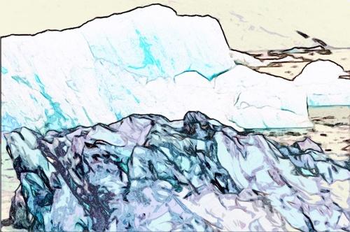 The Black Iceberg by TonyA