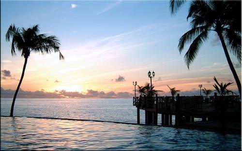 Maldivian Sunset by OPHITE_ZONE