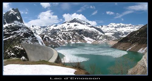Lac d\'Emosson by EmmaStu