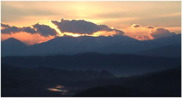 Glen Garry Sunrise by motman