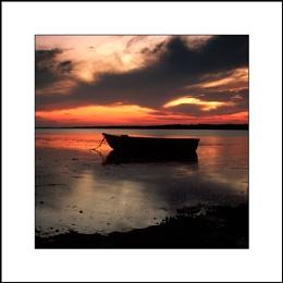 River Stour sunset