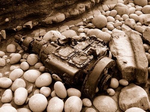 A Beached Engine by samcom