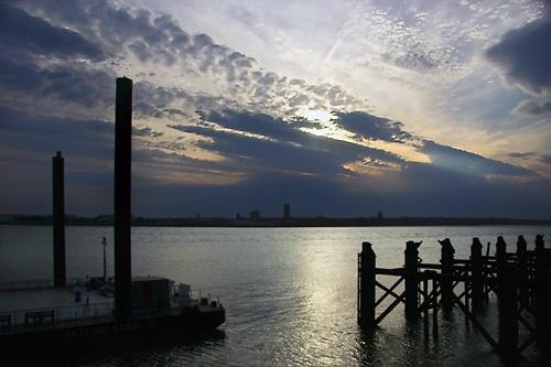 Mersey Sundown by ericfaragh