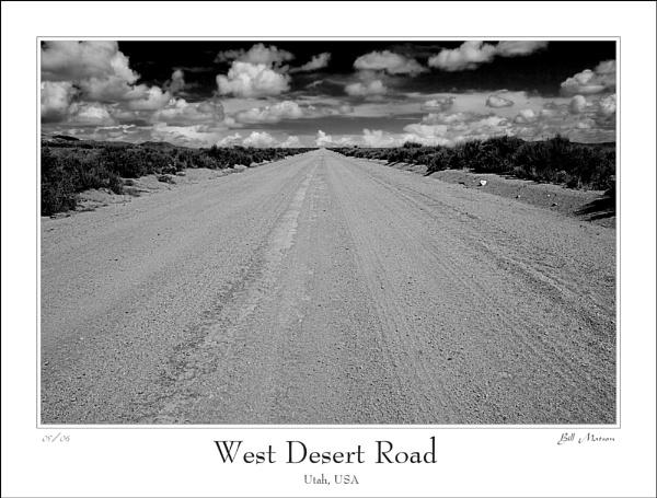 West Desert Road by billma