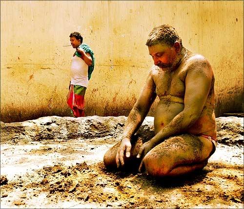 Mudman by Rudra