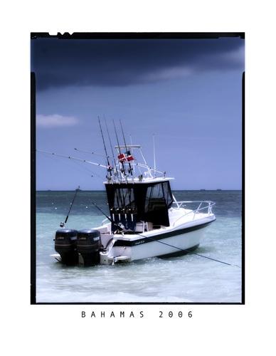 Bahamas Boat by sarah kruger