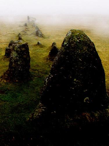 Merrivale stone rows by rdown