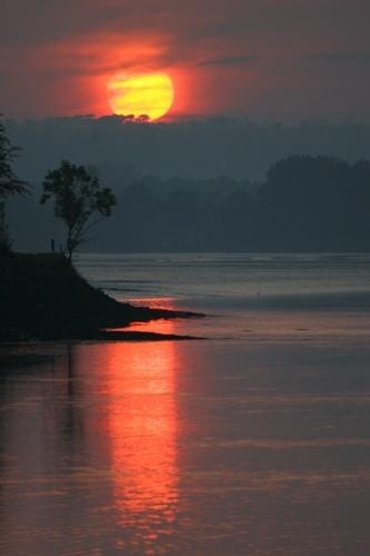 Cork Sunset by o_neip