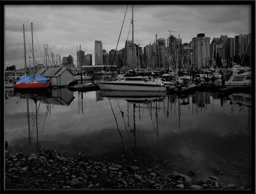 Vancouver Skyline by KingBee