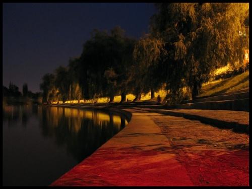 Midnight Walk by tinemazgon