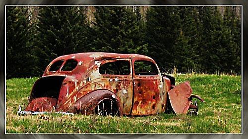 Getaway car by phisher