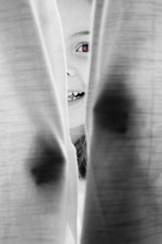 Brown Eyes II by Lenz