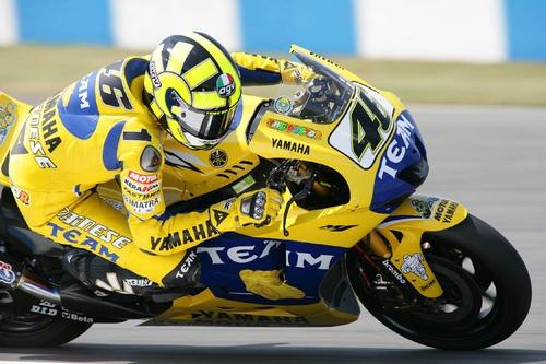 Rossi the master by bikejourno