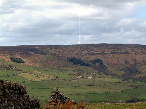 Bilsdale Mast by terra