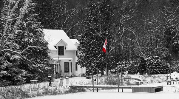 Canada B&W by SherriG