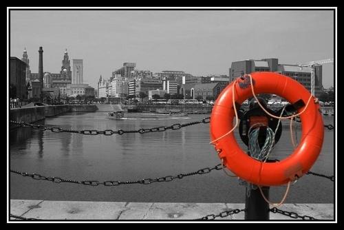 Albert Dock by Anthony