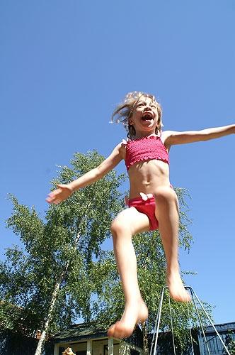 Jump for joy! by SarahV