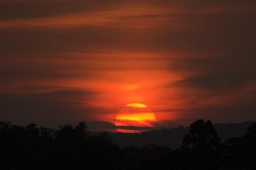 Glorious Worcestershire Sunset by davidjenkins