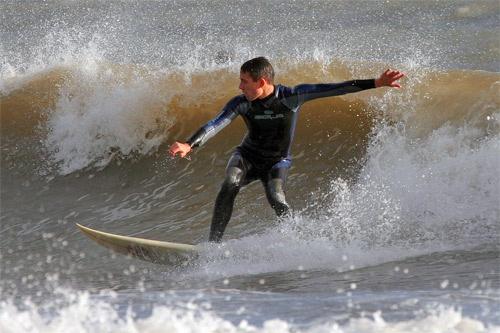 Porthcawl Surfer by dean1