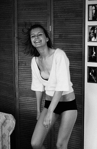 Nathalie\'s laughing by staszak