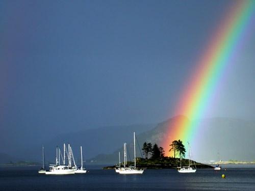 Plockton Rainbow by tandav