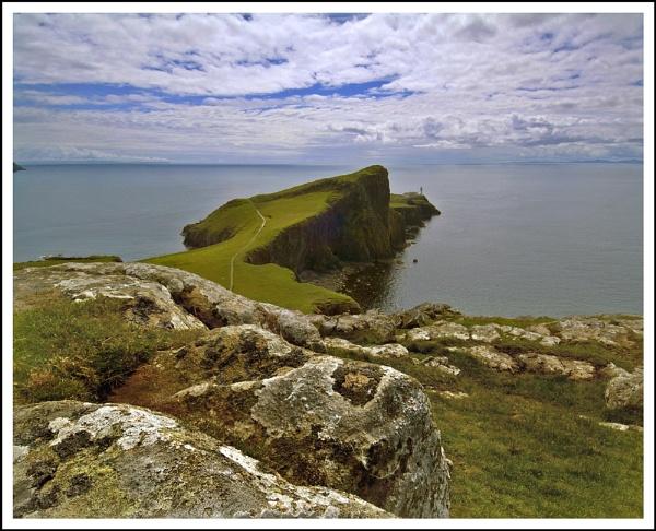 Neist Point light... by Scottishlandscapes