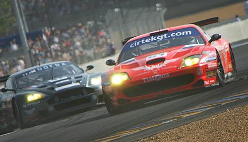 Le Mans - Ferrari by AntonR