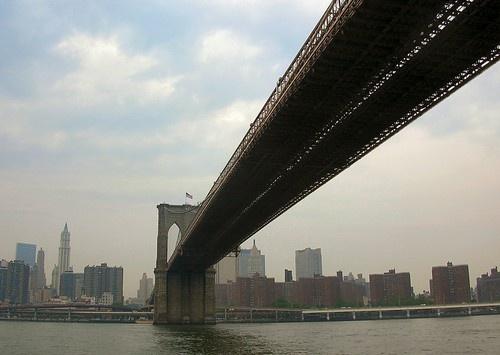Brooklyn Bridge by geoffwd