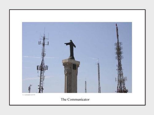 The Communicator by Skull