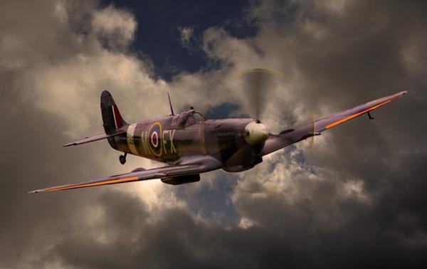 Spitfire Storm by kenbishop