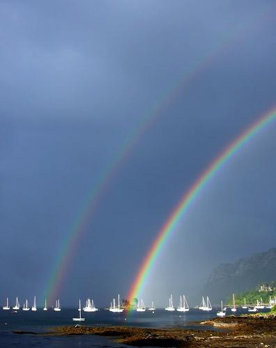 Plockton Rainbow 2 by tandav