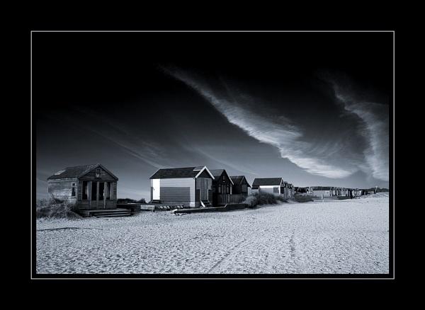 Beach huts by MartinWait