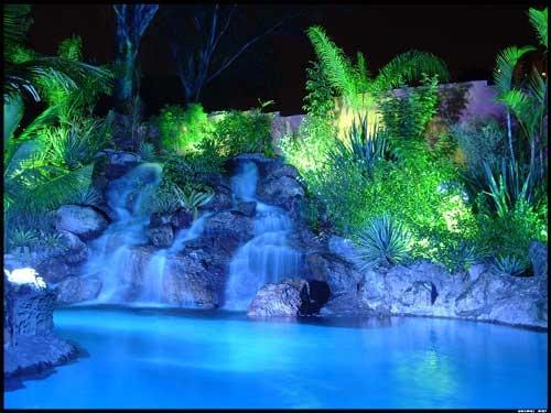 Blue Paradise! by corkonian