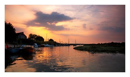 Blakeney Harbour by katieb