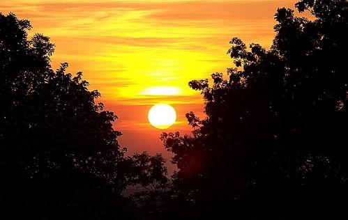 Sun Set by bono