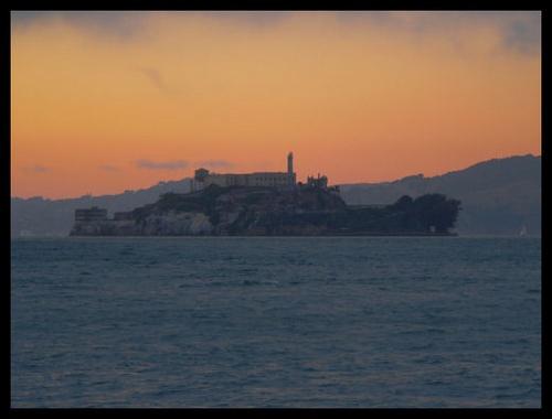 Alcatraz at Dusk v2 by scottf75