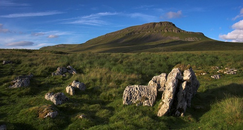 Pen-y-Ghent by mjsayles