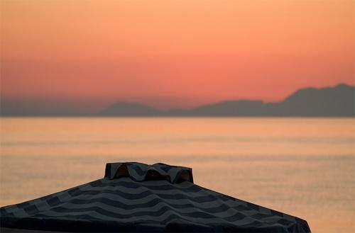 Lalysos Sunset 1 by Johan Vandenberghe