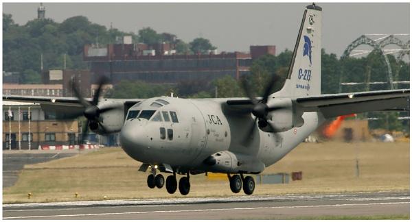 C-27J Spartan Air Transporter by malleader
