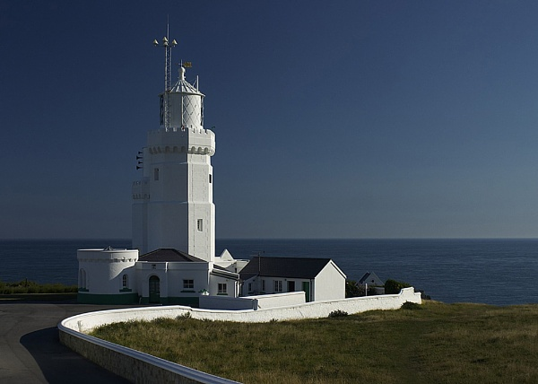 St Catherines Lighthouse by Anthony