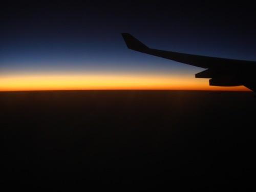 Night flight by RWalker