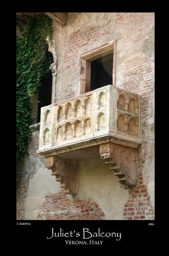 Juliet\'s Balcony by Skull