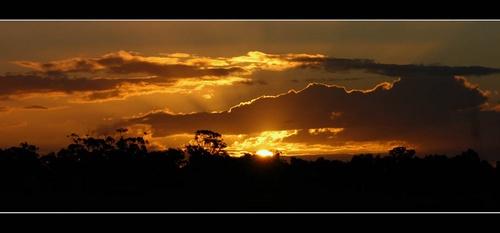 August Sunset by kelmac