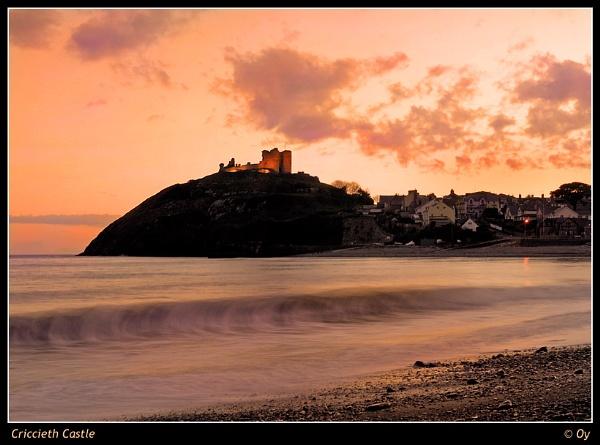 Criccieth Castle by Oy_bumbler