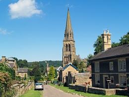 Church of St Peter, Edensor, Derbyshire